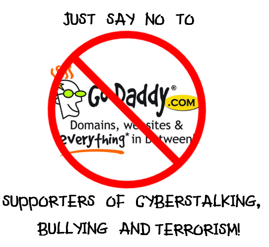 Go Daddy Dot Com Supports Cyber Crimes
