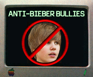 Justin Bieber Attacked by Anti-Bieber Cyberbullies