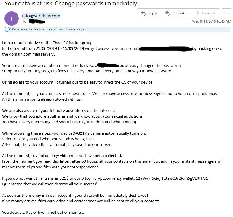 ChaosCC Hacker Group Won't Stop Blackmailing Me