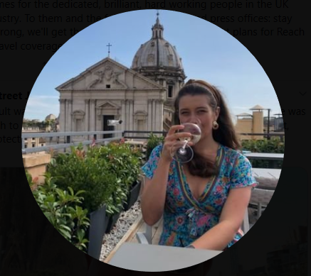 Georgia Cranmer of Norwich, UK - Twitter Harassment