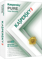 Kaspersky PURE Total Security and British Commercial