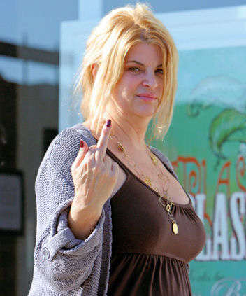 Kirstie Alley's Twitter War with Jeff Ramone