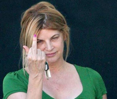 Kirstie Alley Tweeted Intentions to Knock Out Conan O'Brien