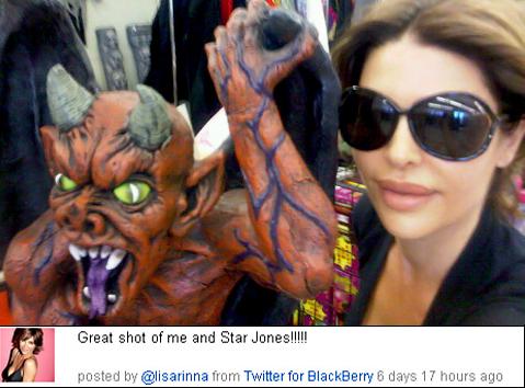 Star Jones Accused Lisa Rinna of Email & Twitter Harassment