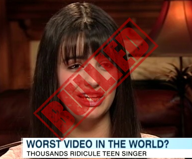 Rebecca Black Bullied and Threatened Over Friday Video