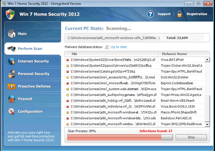 Win 7 Home Security 2012 Hijacked My PC Until I Removed It